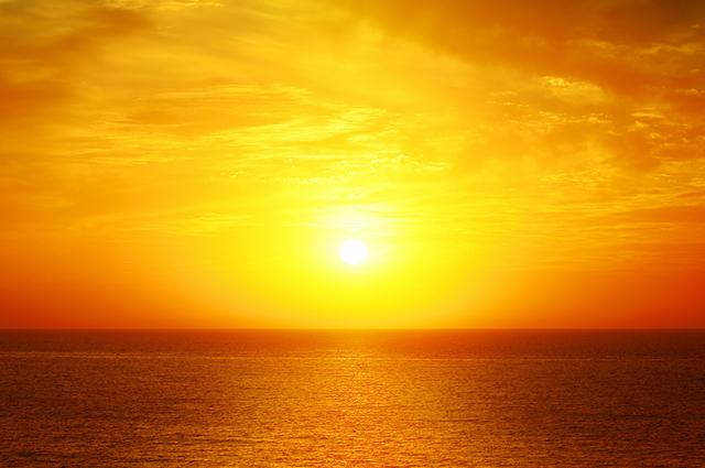 Sol nascendo