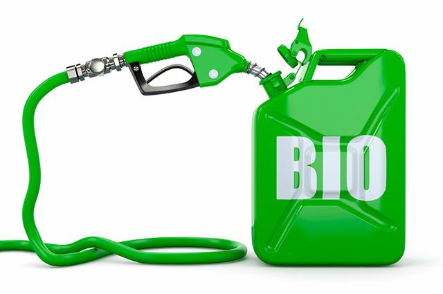 Tanque com biocombustível