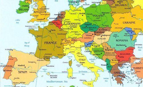 Mapa Europa En Español.Mapa De Europa En Espanol Imagui