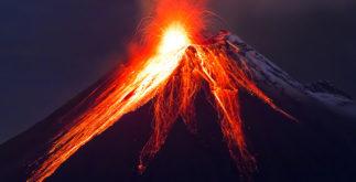 O que é o vulcão?