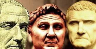 O primeiro triunvirato