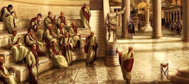 Resultado de imagem para roma e os senadore do imperio