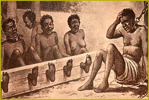 O processo da escravidão na África