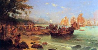 A chegada de Cabral ao Brasil
