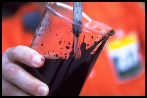 Petróleo é um exemplo de mistura homogênea