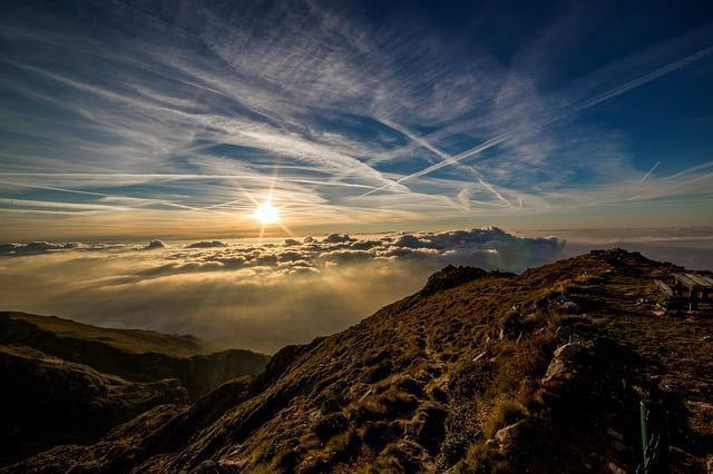 Nas montanhas, o clima é bem mais rarefeito