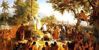 Primeira missa no Brasil: período de conversão ao catolicismo