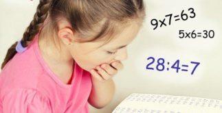 Aprendendo a tabuada de multiplicação do 9
