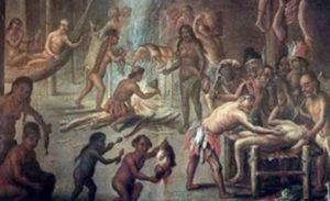 Canibalismo: ser que mata e come o outro de sua mesma espécie