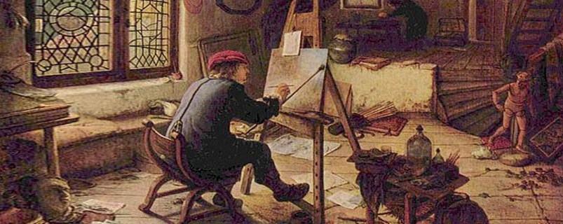 Corporações de ofício: associações de artesãos de uma mesma profissão