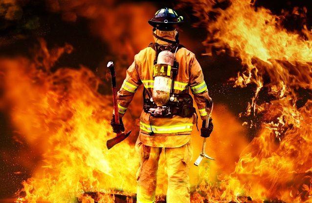 O estado físico do fogo