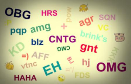 O universo da linguagem internetês