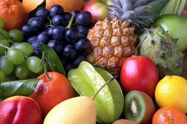 Como ficam maduras as frutas?