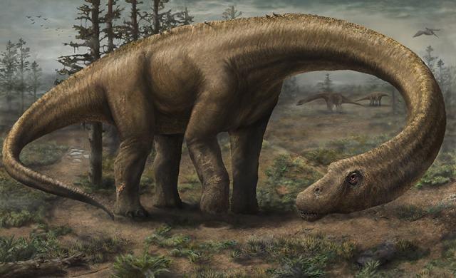 O maior dinossauro do mundo