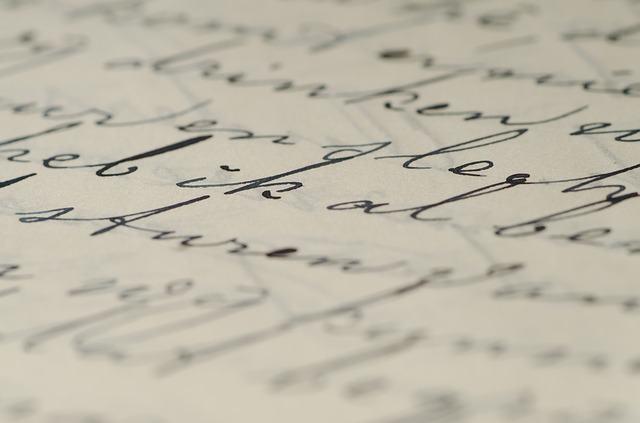 Escrita em papel