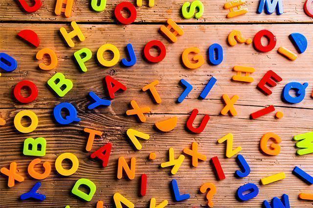 Imagem de letras do alfabeto