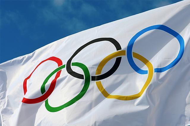 Imagem de bandeira das Olimpíadas