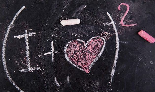 A equação do amor. Se declare com um calculo matematico