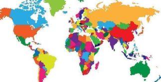 Saiba quantos países existem no mundo