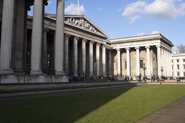 O Museu Britânico foi eleito em 2012 o terceiromuseu mais visitado do mundo