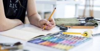 Como fazer caderno de desenho