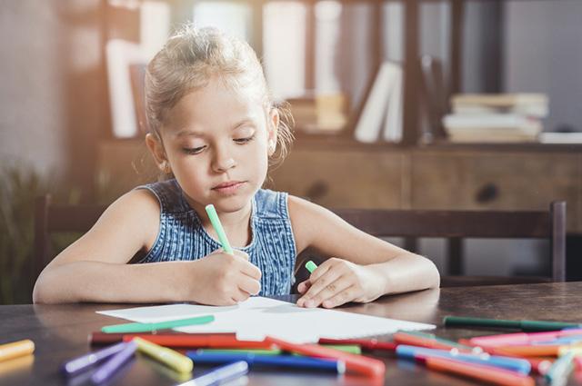 Praticar o desenho aumento a percepção visual da criança