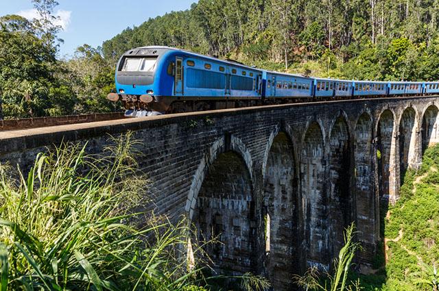 Os trens quase não existem mais no Brasil devido a falta de investimento em malha ferroviária