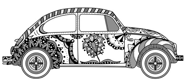 Desenho Para Colorir Carros