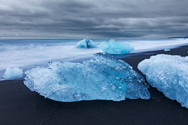 Derretimento de calota polar