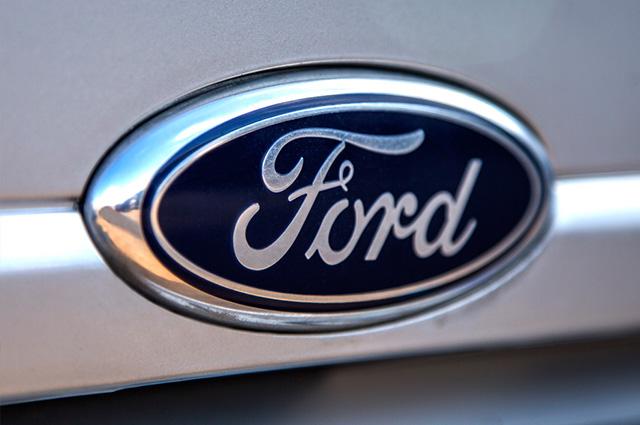 Imagem da placa Ford, empresa de Henry
