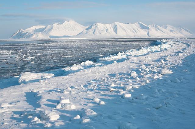 Imagem do polo norte