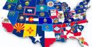 Quantos estados têm nos Estados Unidos da América?