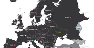 Quantos países tem a europa? Descubra!