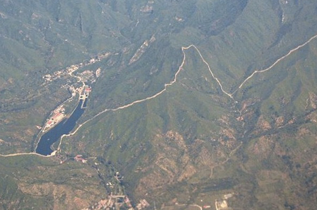 Muralha da China vista de cima