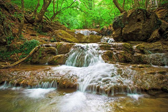 Água em cachoeira