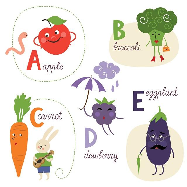 Desenhos de alimentos